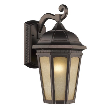 Chloe Transitional 1-light Rubbed Bronze Outdoor Wall Light