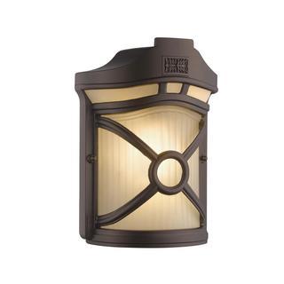 Chloe Transitional 1-light Rubbed Bronze Outdoor Wall Light