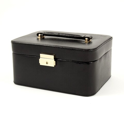 Bey Berk 'Leah' Leather Jewelry Box