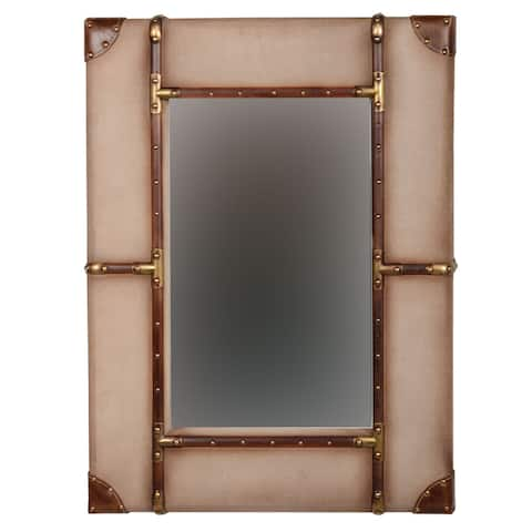 Linon Vintage Small Framed Wall Mirror