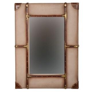 Linon Vintage Small Framed Wall Mirror