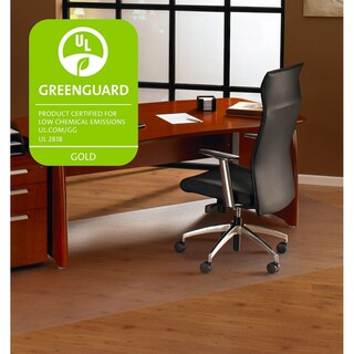 "Cleartex XXL General Purpose Office Mat For Hard Floor Strong Polycarbonate Large Rectangular Size 60"" x 118"""