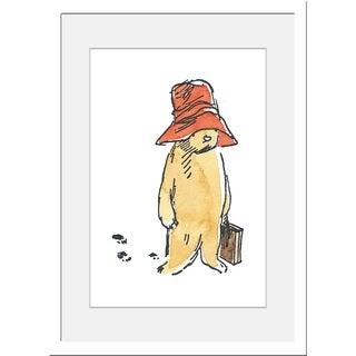 Peggy Fortnum 'Paddington Bear Footprints' Canvas Art