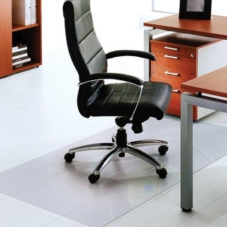 """Cleartex XXL General Office Mat For Hard Floors Strong Polycarbonate Rectangular Size 48"""" x 118"""""""