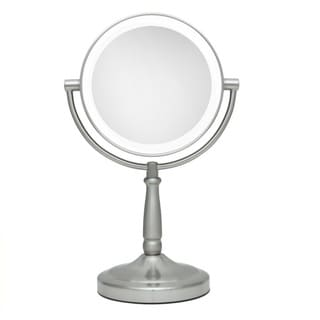 Zadro Next Generation LED Cordless Double Sided 9-inch Round Vanity Mirror