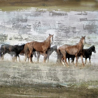 Team of Horses' Giclee on Canvas Wall Art