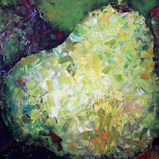 Glistening Pear' Giclee on Canvas Wall Art - Multi