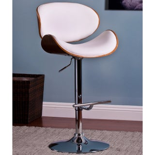 Carson Carrington Sauoarkrokur Modern Adjustable Swivel Barstool (2 options available)