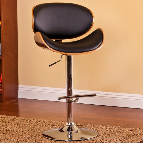 Square Bistro Table. Modern Adjustable Swivel Barstool