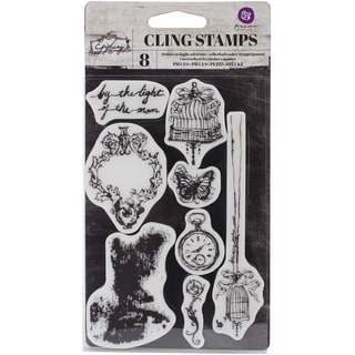 Epiphany Cling Rubber Stamps 4X6in