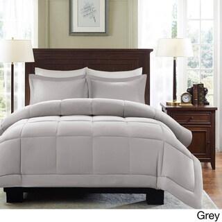 Madison Park Belford Microcell Down Alternative 3-piece Comforter Mini Set