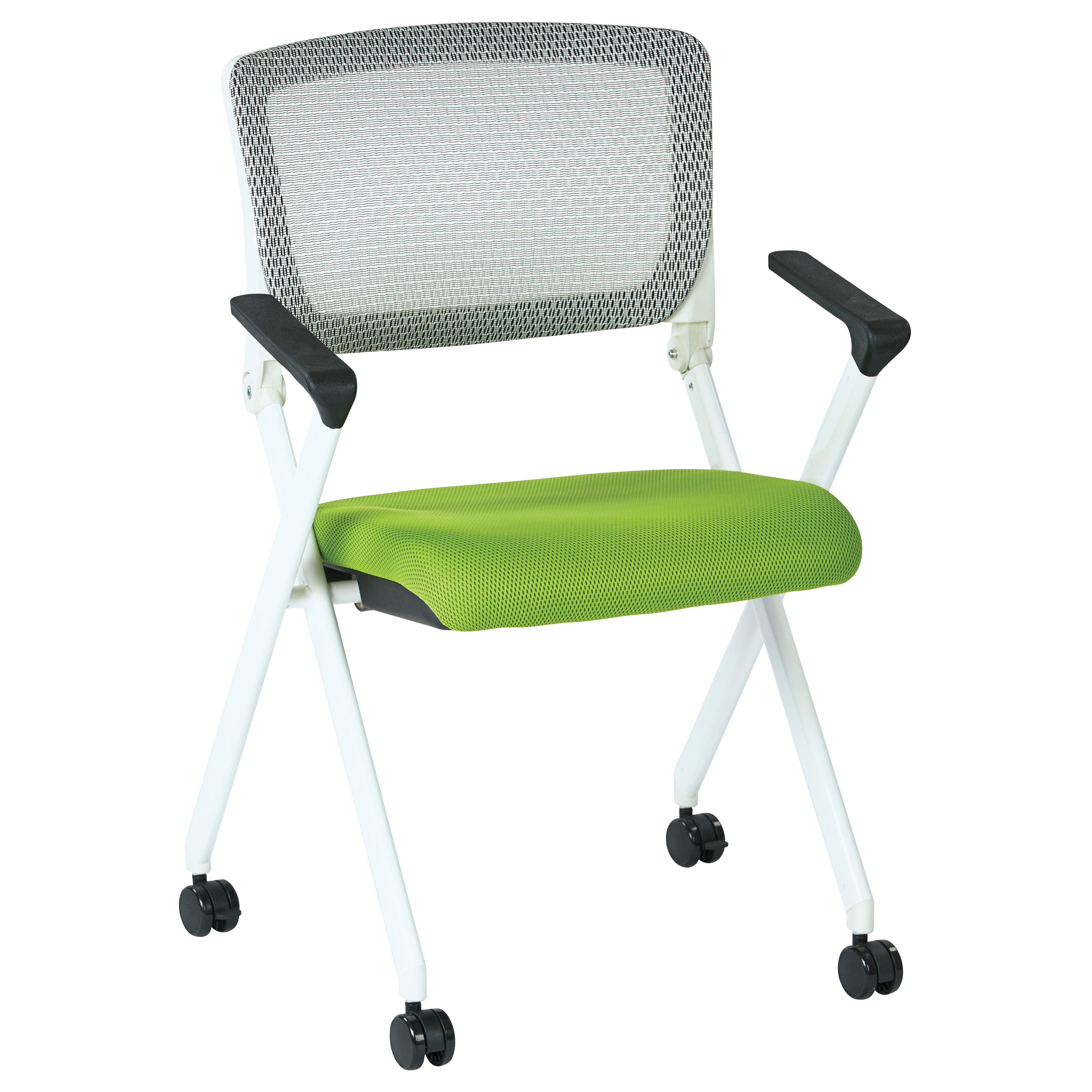 Flex one folding chair white