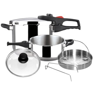 Magefesa Practika Plus Stainless Steel 6-piece Pressure Cookware Set