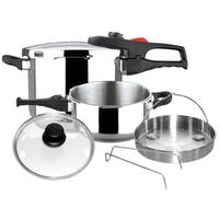 Magefesa Practika Plus Stainless Steel 6-piece Pressure Cookware Set