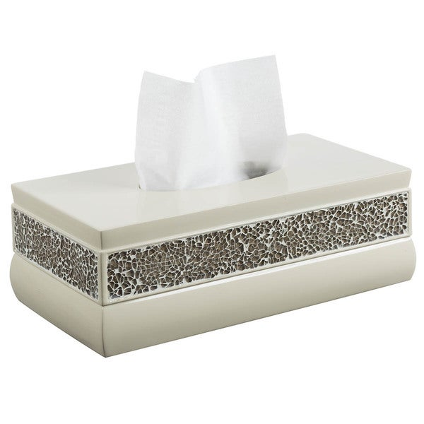Broccostella Rectangular Resin Tissue Box