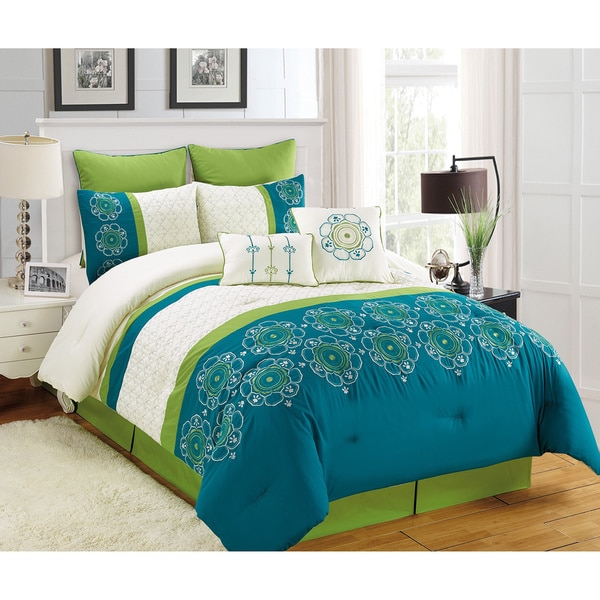 Fashion Street Italiana 8-piece Comforter Set
