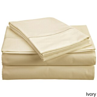 Solid Egyptian Cotton 800 Thread Count Deep Pocket Sheet Set (More options available)