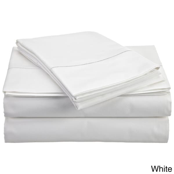 solid egyptian cotton 800 thread count deep pocket sheet set free shipping today