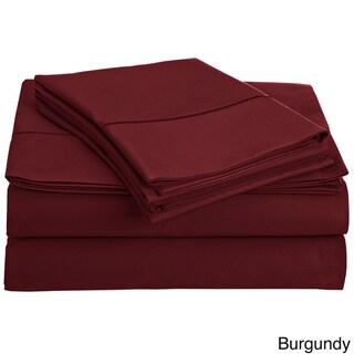 Solid Egyptian Cotton 800 Thread Count Deep Pocket Sheet Set