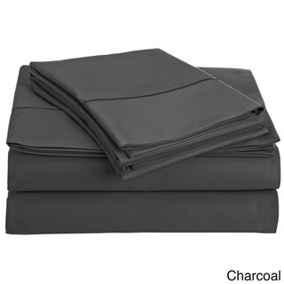 Luxury Solid Egyptian Cotton 800 Thread Count Deep Pocket Sheet Set