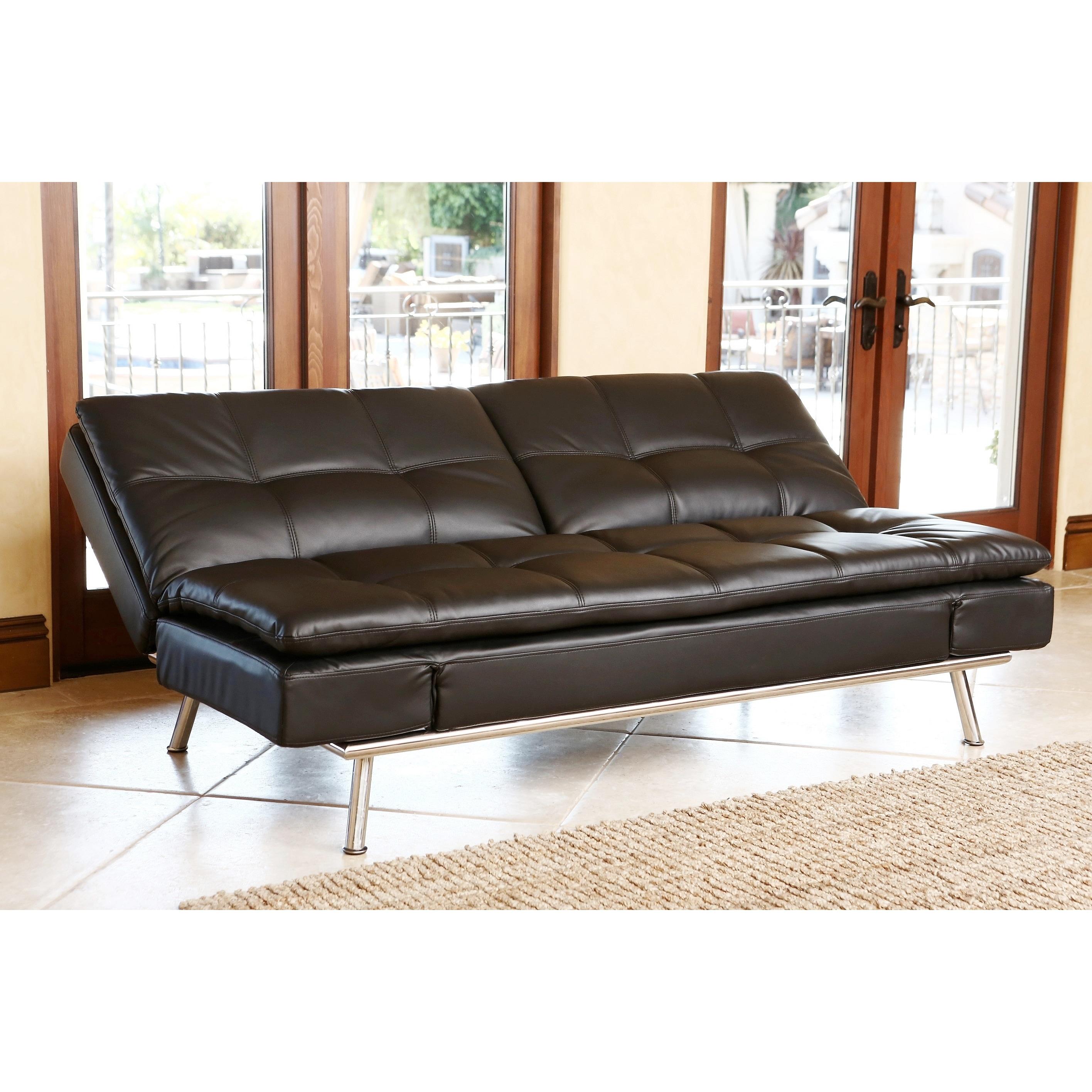 Black Convertible Sofa Balkarp Sleeper Sofa Knisa Black