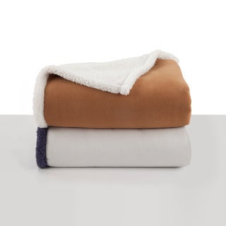 Vellux Shearling Throw Blanket
