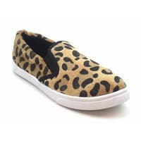Blue Women's 'Venice Lep' Animal Printed Flats