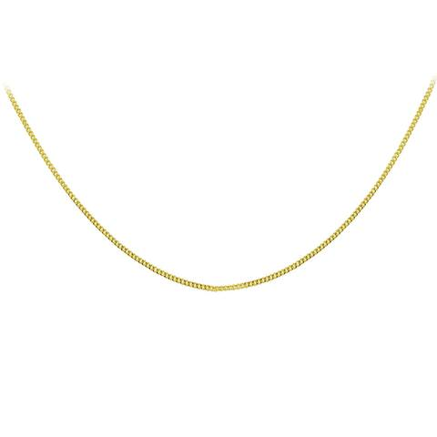 Mondevio 14k Yellow Gold .85mm Foxtail Chain Necklace
