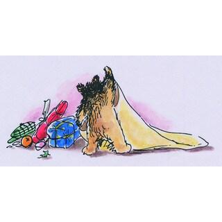 Peggy Fortnum 'Paddington Bear Blankie' Canvas Art