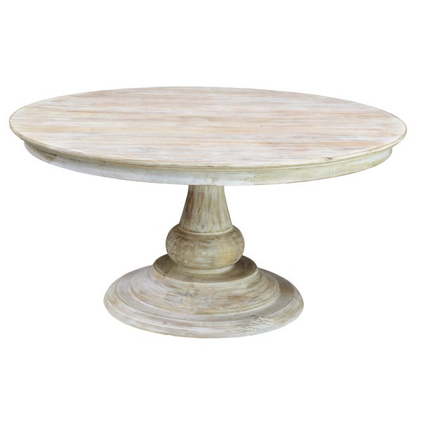 kosas home 60 inch denso round wood dining table free shipping today