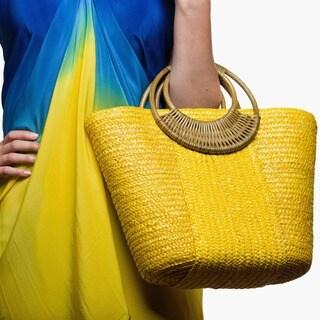 Beach Glam Women's Stylish Straw Beach Bag (China)