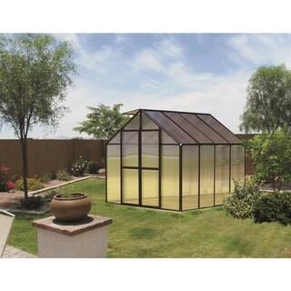Monticello (8x8) Black Premium Greenhouse