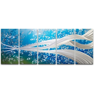 Whirlpool' XL Metal Wall Art 24 x 59 in.