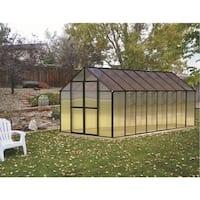 Monticello (8x16) Black Premium Greenhouse
