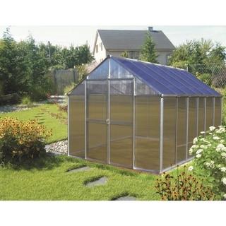 Monticello (8x12) Aluminum Premium Greenhouse