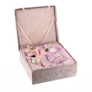 Kurt Alder Noble Gems Glass Baby Girl Ornament Set