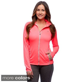 RBX Activewear Women's Bonded Jacquard Jacket