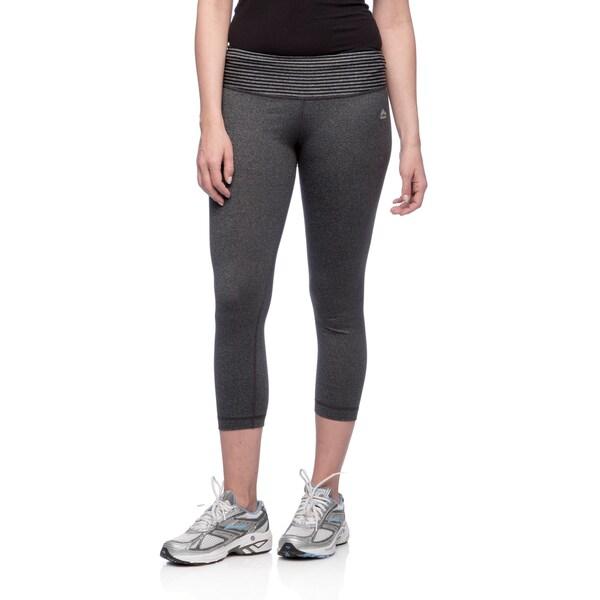 2e6723dca5266 Shop RBX Activewear Women's Striped Yoga Capri Pants - Ships To ...