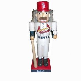 Kurt Adler 14-inch Cardinals Baseball Player Nutcracker