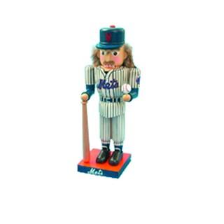 Kurt Adler 14-inch New York Mets Baseball Player Nutcracker