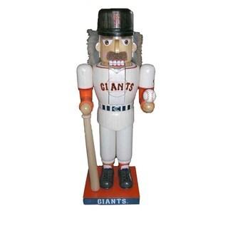 Kurt Adler 14-inch Giants Baseball Player Nutcracker
