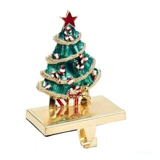 Kurt Adler Zinc Christmas Tree Stocking Holder|https://ak1.ostkcdn.com/images/products/9552781/P16733468.jpg?impolicy=medium