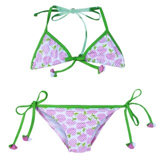 Azul Swimwear Girls' Garden of Eden Triangle Bikini