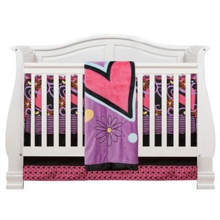 Sassy Shaylee 4-piece Crib Bedding Set