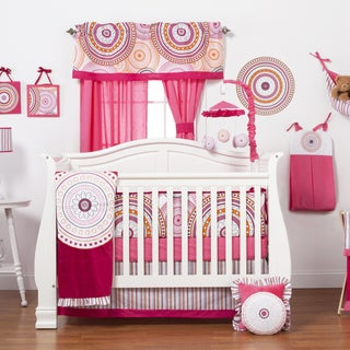 Girls' Sophia Lolita 4-piece Crib Bedding Set