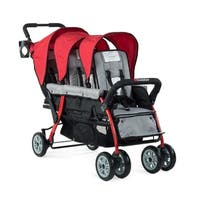 Foundations Trio Sport Tandem Stroller in Red