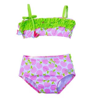 Azul Swimwear Girls 'Garden of Eden' Bandeau Bikini and Bottom Set