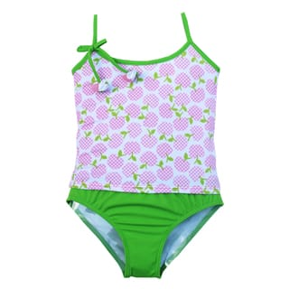 Azul Swimwear Girls' Garden of Eden Tankini|https://ak1.ostkcdn.com/images/products/9554654/P16734668.jpg?impolicy=medium