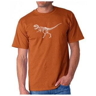 Men's Los Angeles Pop Art 'Dinosaur Bones T-Rex' T-shirt