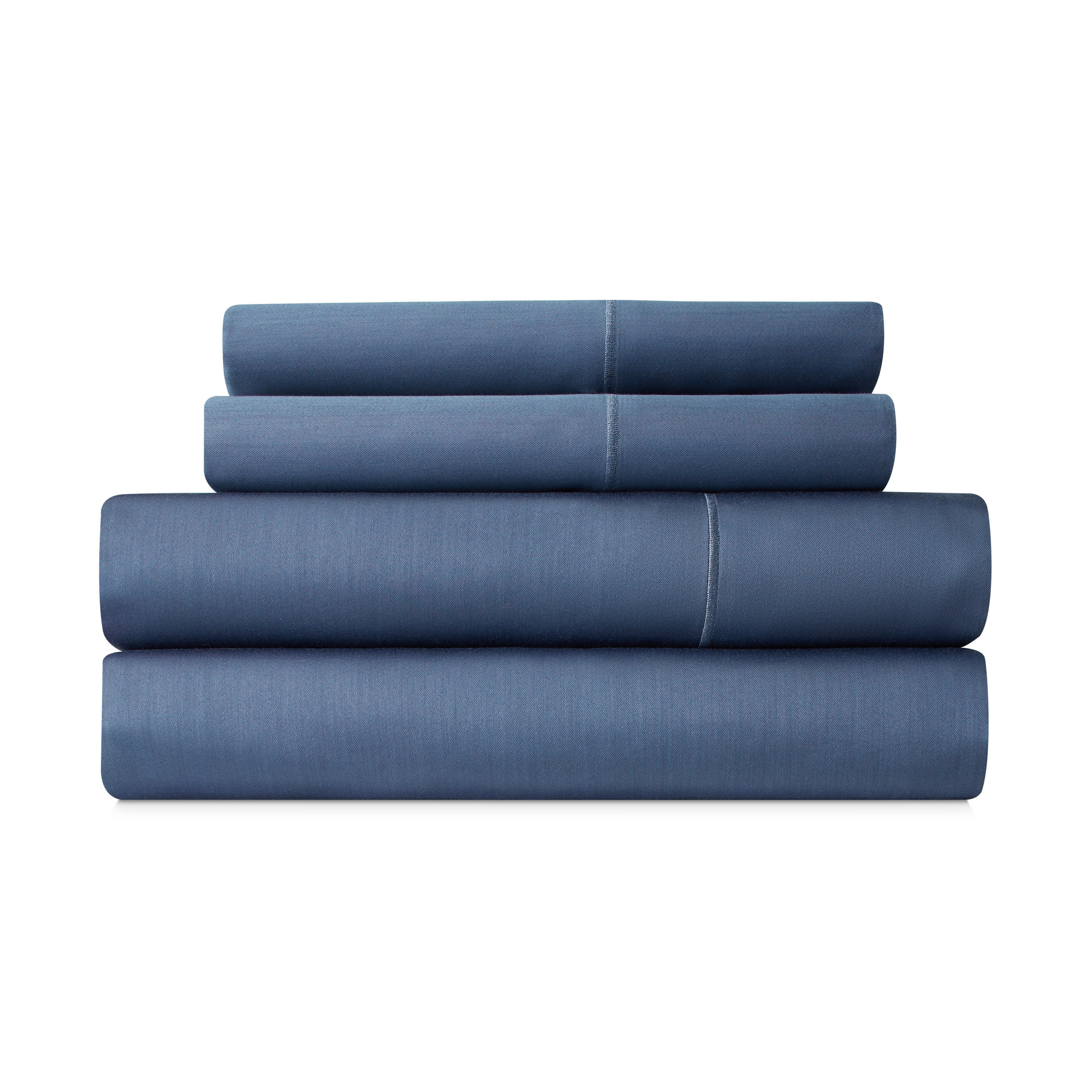 Wrinkle Free 1000 TC Cotton Blend Solid Easy Care Sheets 55/% Cotton 45/%Polyester